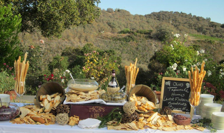 Classic Catering at Holman Ranch